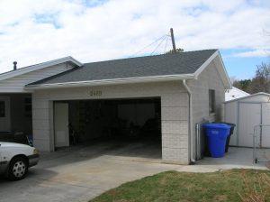 Before_Exterior_Garage_Ramblers | Renovation Design Group