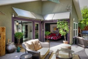 Outdoor Patio, Sun Shading, Tension, indoor outdoor space | Renovation Design Group