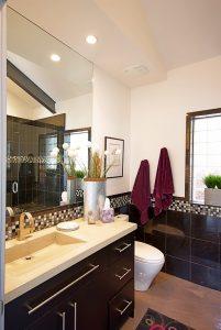 bathroom, sink, tile   Renovation Design Group