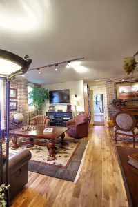 After Interior Remodel Family Room Condo Remodels | Renovation Design Group
