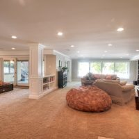 After Whole House Renovation Basement Remodel Natural Light Open Space | Renovation Design Group