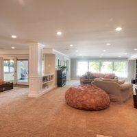 After Whole House Renovation Basement Remodel Natural Light Open Space | Renovation Design Group