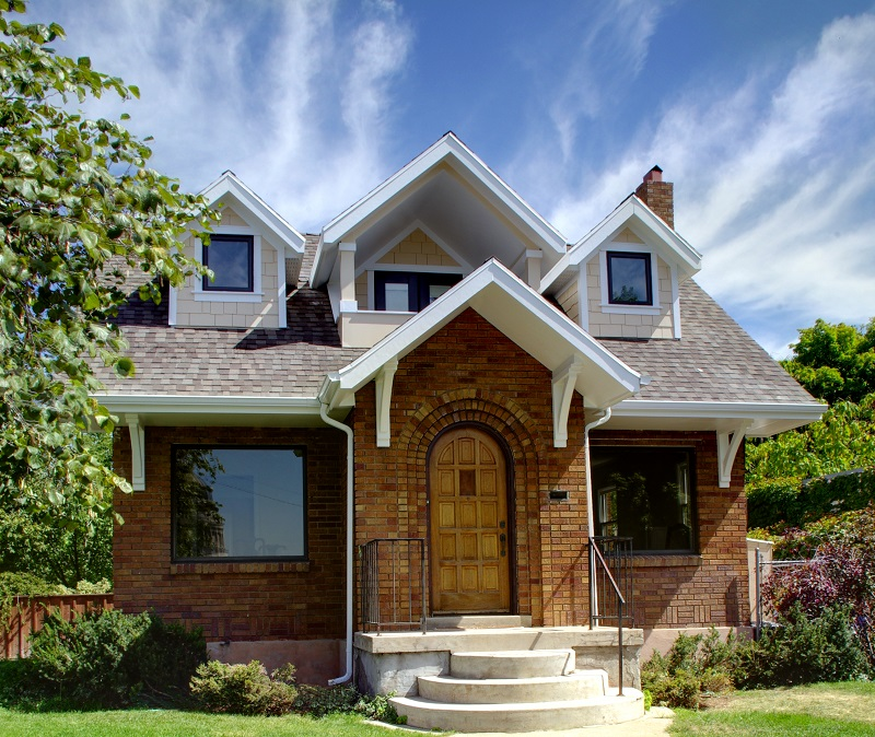 After_Exterior_Bungalow Exterior_Salt Lake Homes | Renovation Design Group