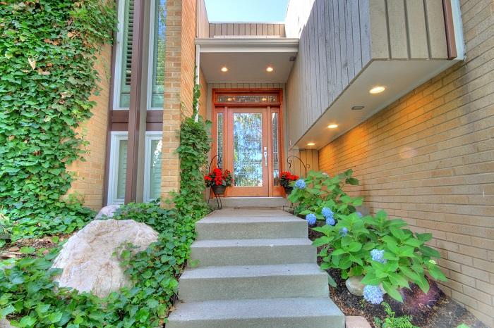 After Exterior Remodel Front Entry Porch Designs Renovation Design Milcreek Utah | Renovation Design Group