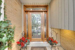 After Exterior Renovation Front Porch Design 1970 Style Home in Milcreek Utah | Renovation Design Group