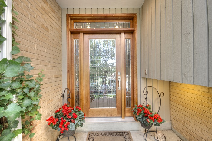 After Exterior Renovation Front Porch Design 1970 Style Home in Milcreek Utah | Renovation Design Group
