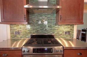 After Renovation Interior Kitchen Remodel Minimalist Modern Stainless Steel | Renovation Design Group