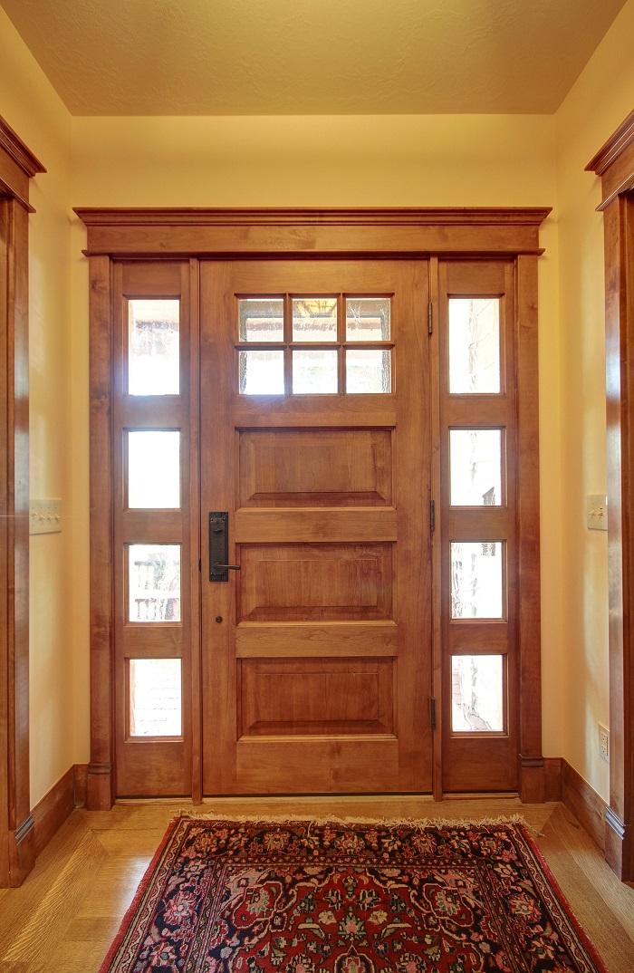 After_Foyer Renovation_Front Door_Home Renovation DesignAfter_Interior Remodel_Living Room_Family Room Design resized | Renovation Design Group