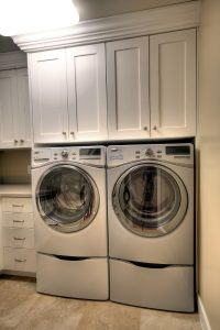 After Interior Laundry Room Mudroom | Renovation Design Group