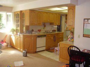 Interior Split Level Addition home Before remodel | Renovation Design Group