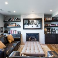 After_Interior_Family Room_Lower Level Split | Renovation Design Group