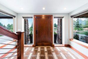After_Interior_Front Door_Front Entry_Modern Split Level | Renoation Design Group