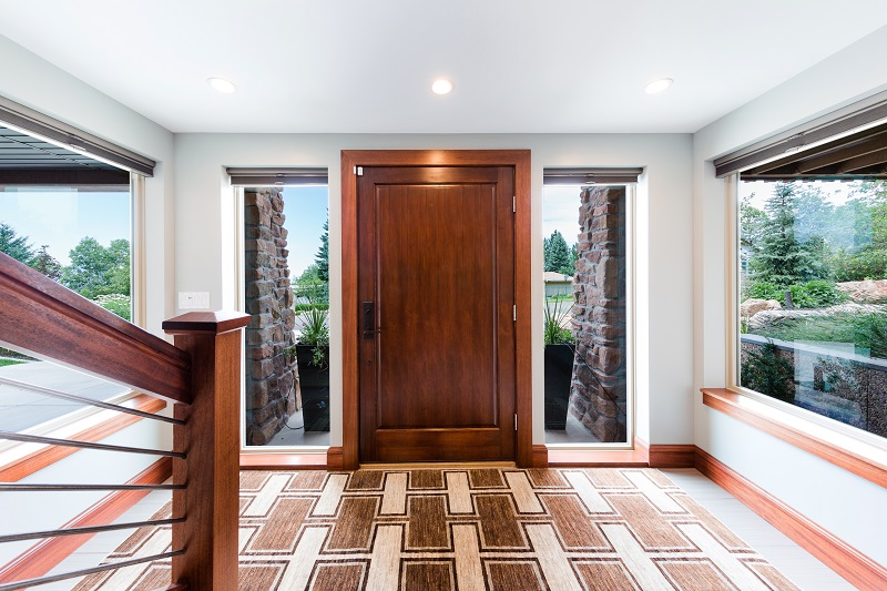 After_Interior_Front Door_Front Entry_Modern Split Level | Renoation Design Group