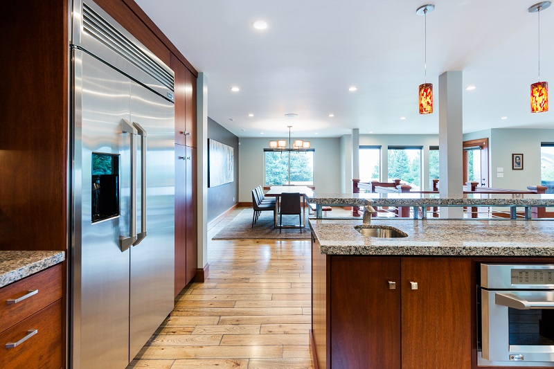 After_Interior_Kitchen Remodels_Window Seats_Contemporary Split Level Remodels | Renovation Design Group