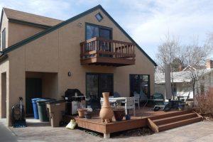 before, Exterior, back porch, pergolas, sun shades | Renovation Design Group
