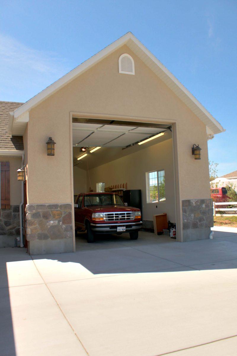 After_Exterior Renovation_Garage_Home Exterior Remodel | Renovation Design Group