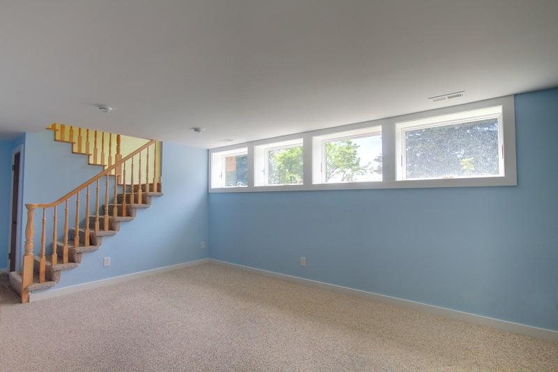 Split Level Staircase Basements | Renovation Design Group Ranch