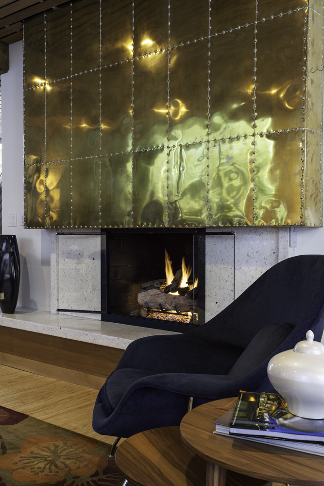 790_After_Interior_Fireplace remodels_Copper Mantle_Modern Fireplace Designs | Renovation Design Group