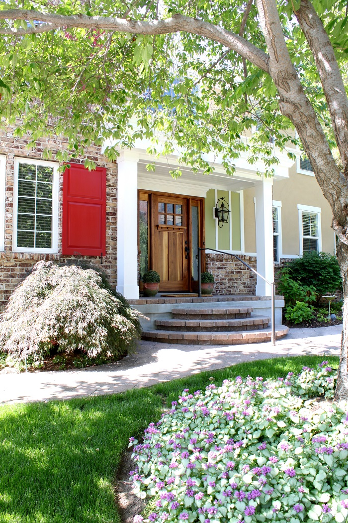 After_Curb Appeal Design_Front Doors_1980's Home Remodel | Renovation Design Group