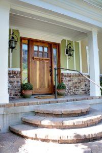 After_Front Entrance Renovation_Brick Steps_Home Renovation Front | Renovation Design Group