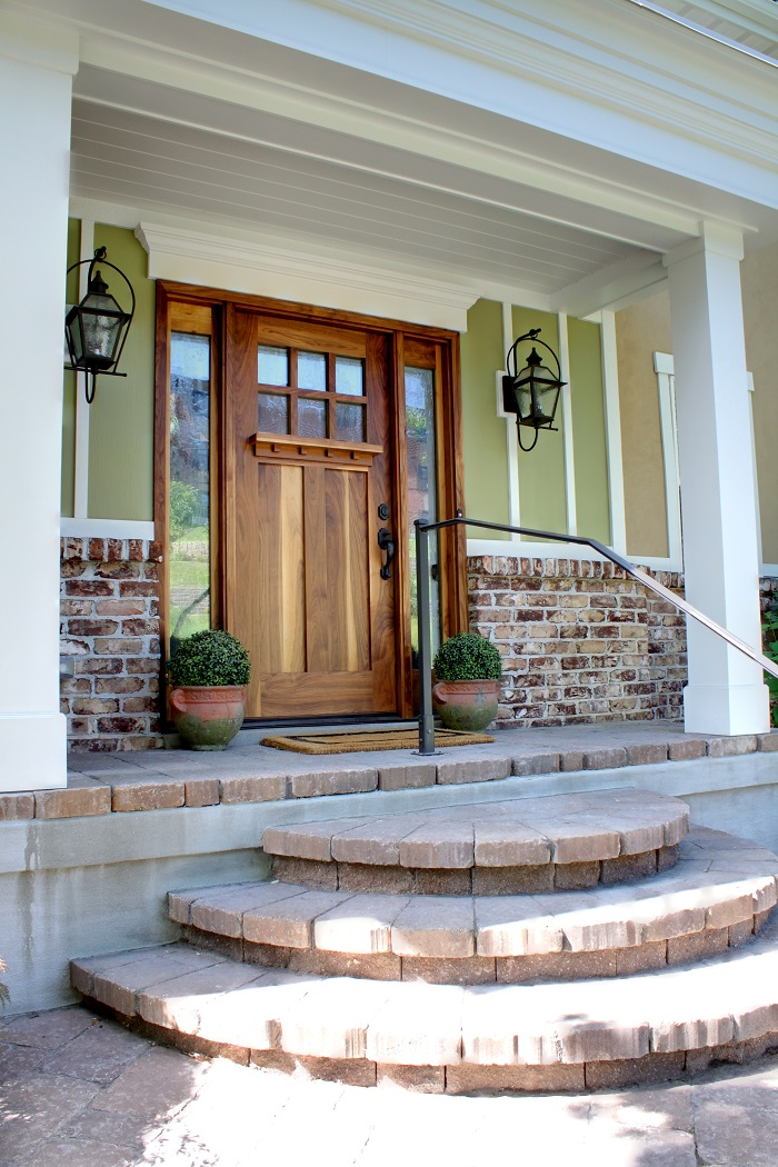 After_Front Entrance Renovation_Brick Steps_Home Renovation Front | Renovation Design Group