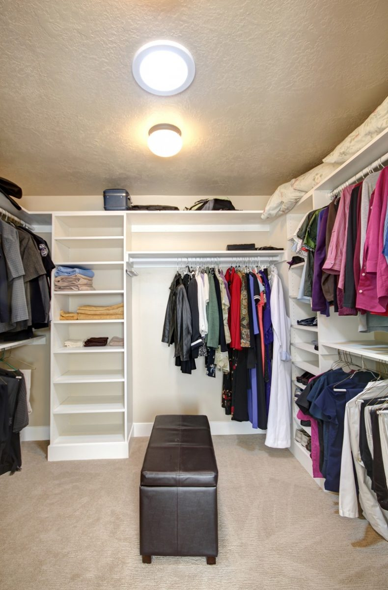 After_Interior_Master Suite_Walk-in Closet ideas_1980's home remodels | Renovation Design Group
