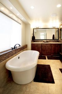 After_Interior_Master Bathroom_stand alone tub_unique bathroom ideas_1980's home | Renovation Design Group