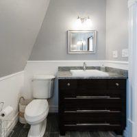 Victorian Home Bathrooms Brick Walls | Renovation Design Group