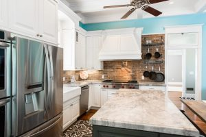 Open Kitchen Remodel with Custom table | Renovation Design Group