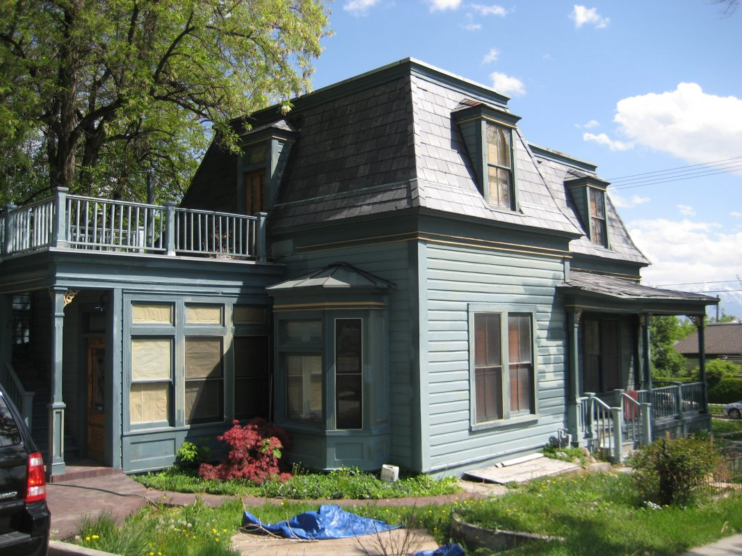Before Victorian Restoration Exterior | Renovation Design Group