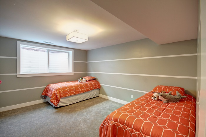 After_Interior Renovation_Bedroom_Basement Bedroom Renovation | Renovation Design Group