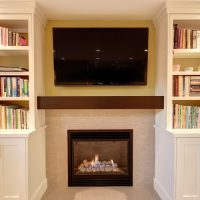 After_Interior Renovation_Fireplace_Basement Renovation | Renovation Design Group