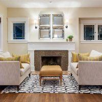 After_Interiors_Living Room_Craftsman Bungalow | Renovation Design Group