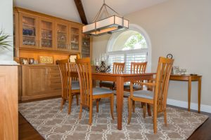 Cottonwood Club Split Level Interior Dining Room Remodel by Renovation Design Group