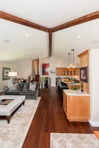 Cottonwood Club Split Level Interior Great Room Renovation by Renovation Design Group