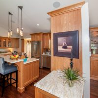 Cottonwood Club Split Level Kitchen Renovation by Renovation Design Group
