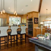 Cottonwood Club Split Level Interior Kitchen Renovation by Renovation Design Group