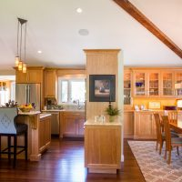 Cottonwood Club Split Level Interior Great Room Remodel Renovation Design Group