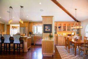 Cottonwood Club Split Level Interior Great Room Remodel Renovation Design Group