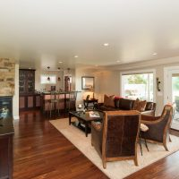 Cottonwood Club Split Level Interior Basement Remodel by Renovation Design Group