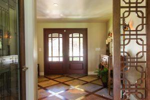 Cottonwood Club Split Level Interior Front Door Entry Remodel by Renovation Design Group