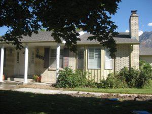 Before, Exterior, ranch, rambler, 1970's, Front porches, pillars | Renovation Design Group
