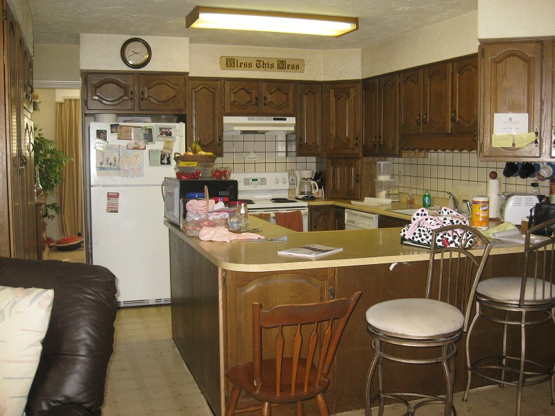Before, Interior, Kitchen, Rancher, Rambler, 1970's, Traditional | Renovation Design Group