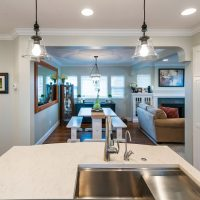 All White Sleek Kitchen Design and remodels | Renovation Design Group