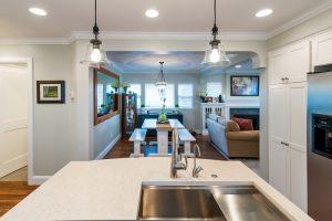All White Sleek Kitchen Design and remodels | Renovation Design Group