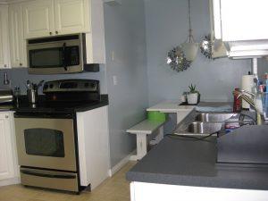Before white kitchen remodel | Renovation Design Group