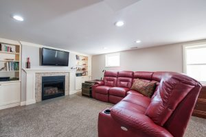 After_Interior_Family Room_Basements Remodels_Cottage | Renovation Design Group