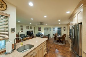 After Interior Dining area Kitchen Condo Remodel | Renovation Design Group