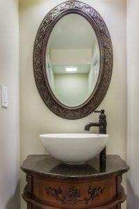 After_Interior Renovations_Powder Room_Small Bathroom Ideas | Renovation Design Group