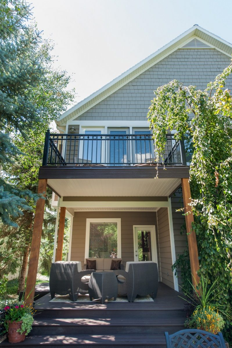 After an Exterior Backyard Back of Home Remodel Porches Patios Outside Spaces | Renovation Design Group